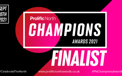We're Prolific North Champions Finalists: Tech for Good Award!