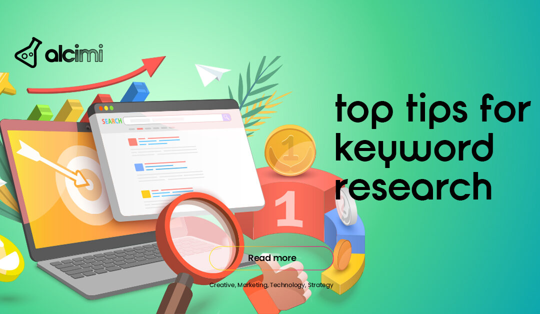 Alcimi's Top Tips for Keyword Research